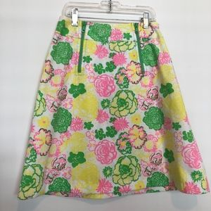 """Vintage Lilly Pulitzer """"The Lilly"""" A-line Skirt"""